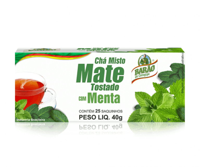 Chá Mate Tostado com Menta Barão