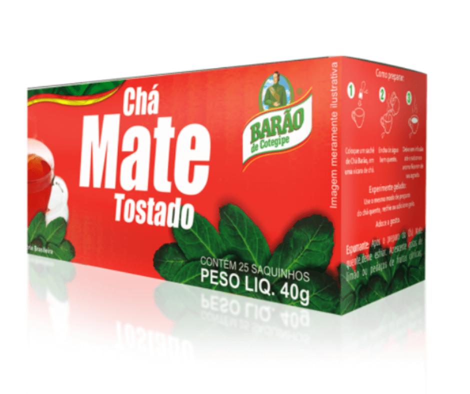 Chá Mate Tostado Natural Barão