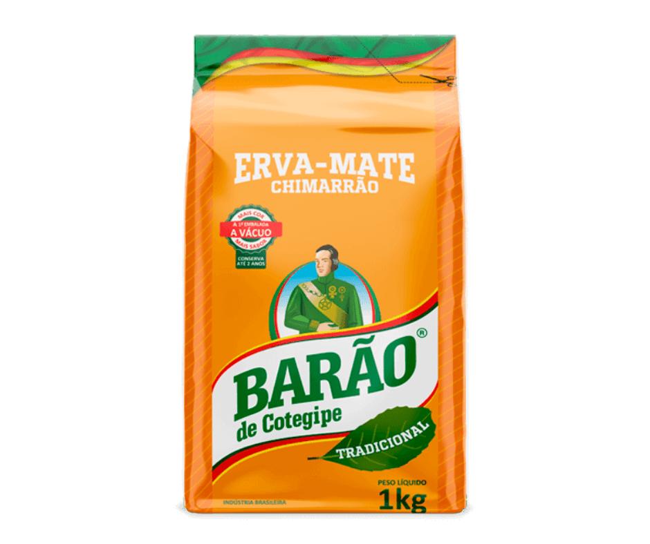 Erva-Mate Barão Tradicional a Vácuo 1Kg