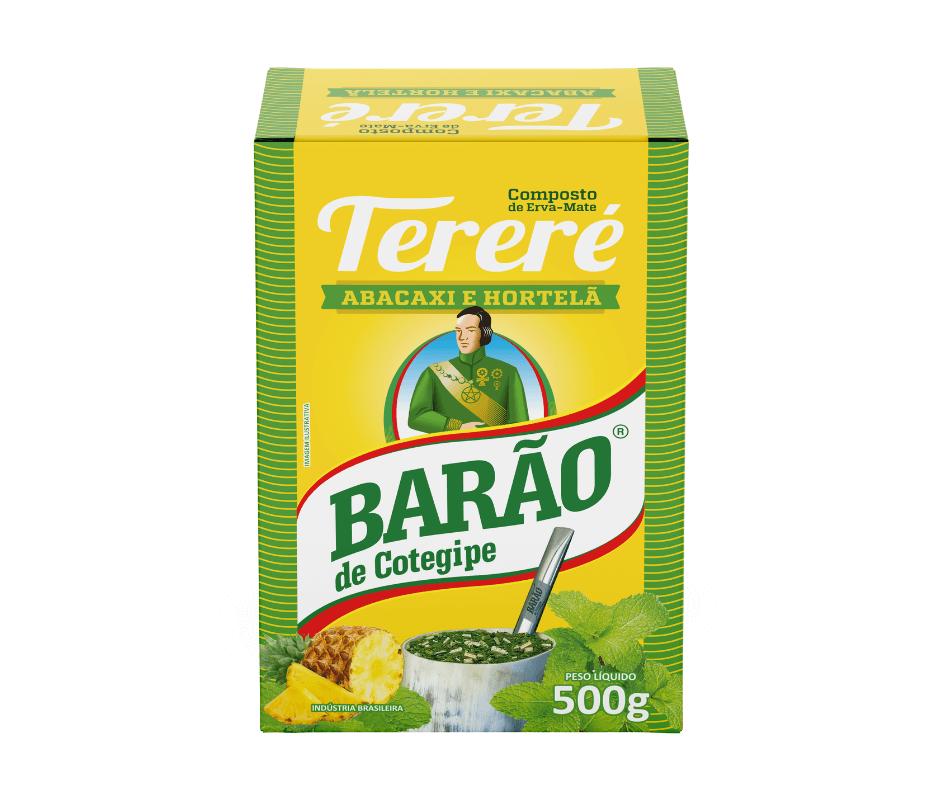Erva-Mate Tereré Abacaxi com Hortelã Barão 500g