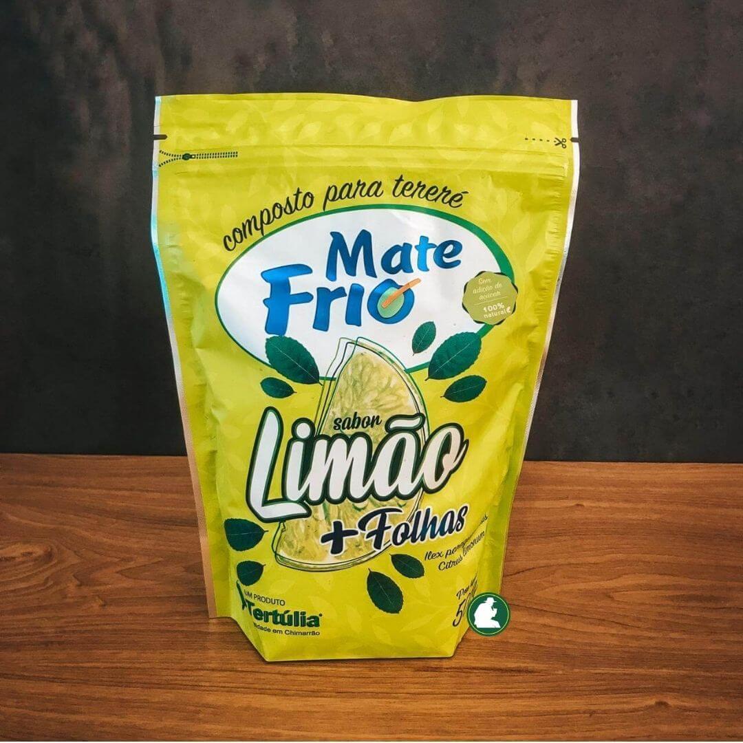 Erva-Mate Tereré Frio - Sabor Limão 500g