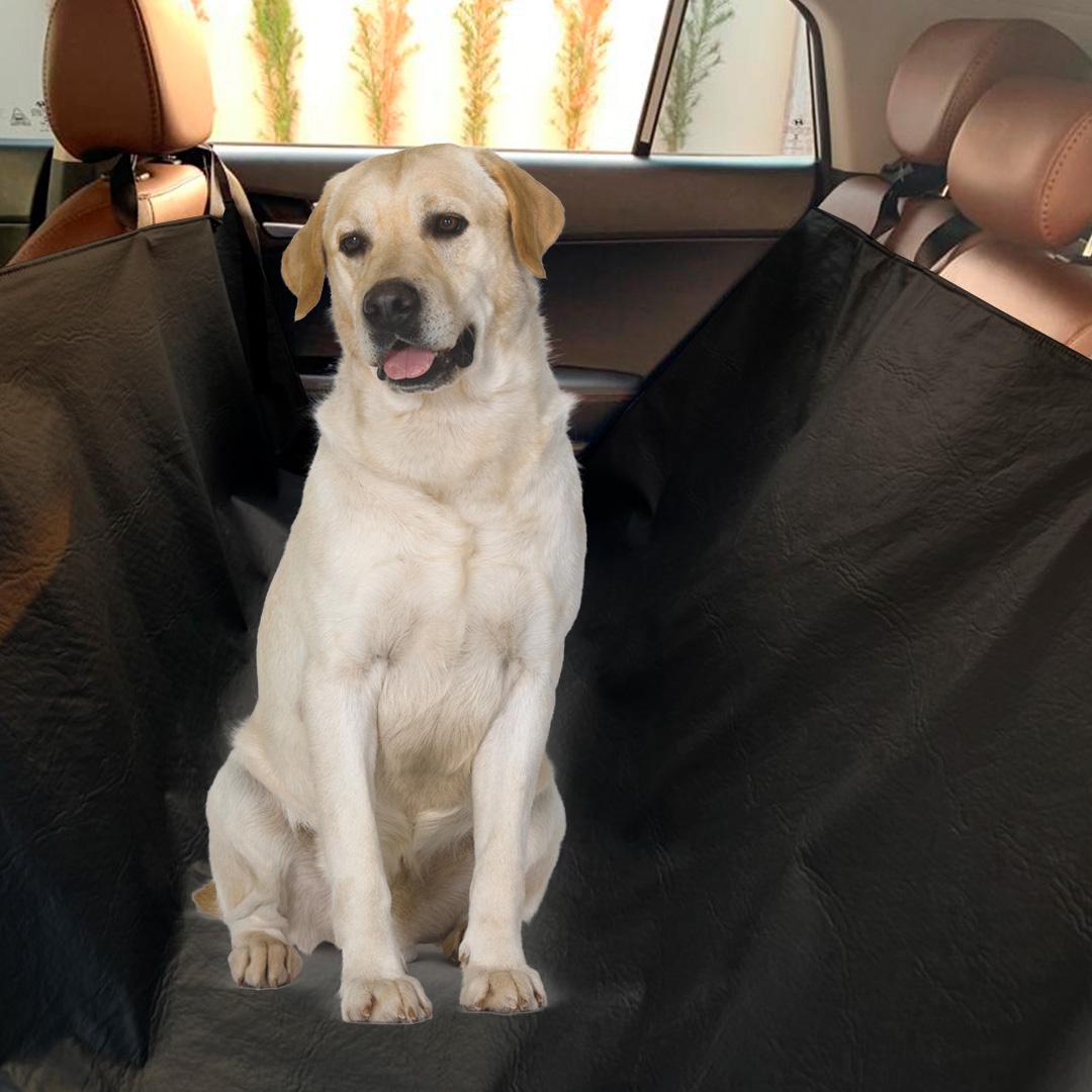 Capa de Banco Pet para Cachorros e Gatos em Corino Com Passagem de Cinto