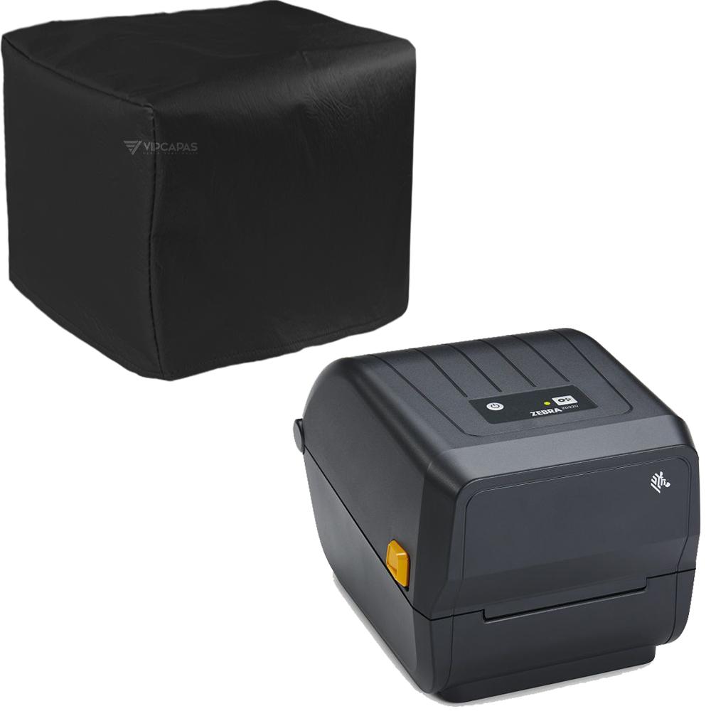 Capa Impressora Térmica Zebra ZD220 Preta