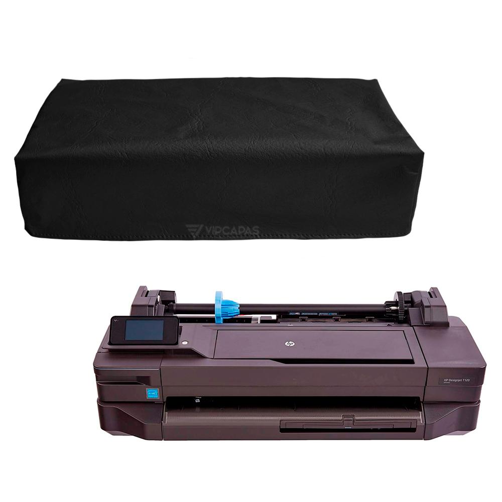 Capa Para Impressora Plotter Jato De Tinta HP T120 Corino