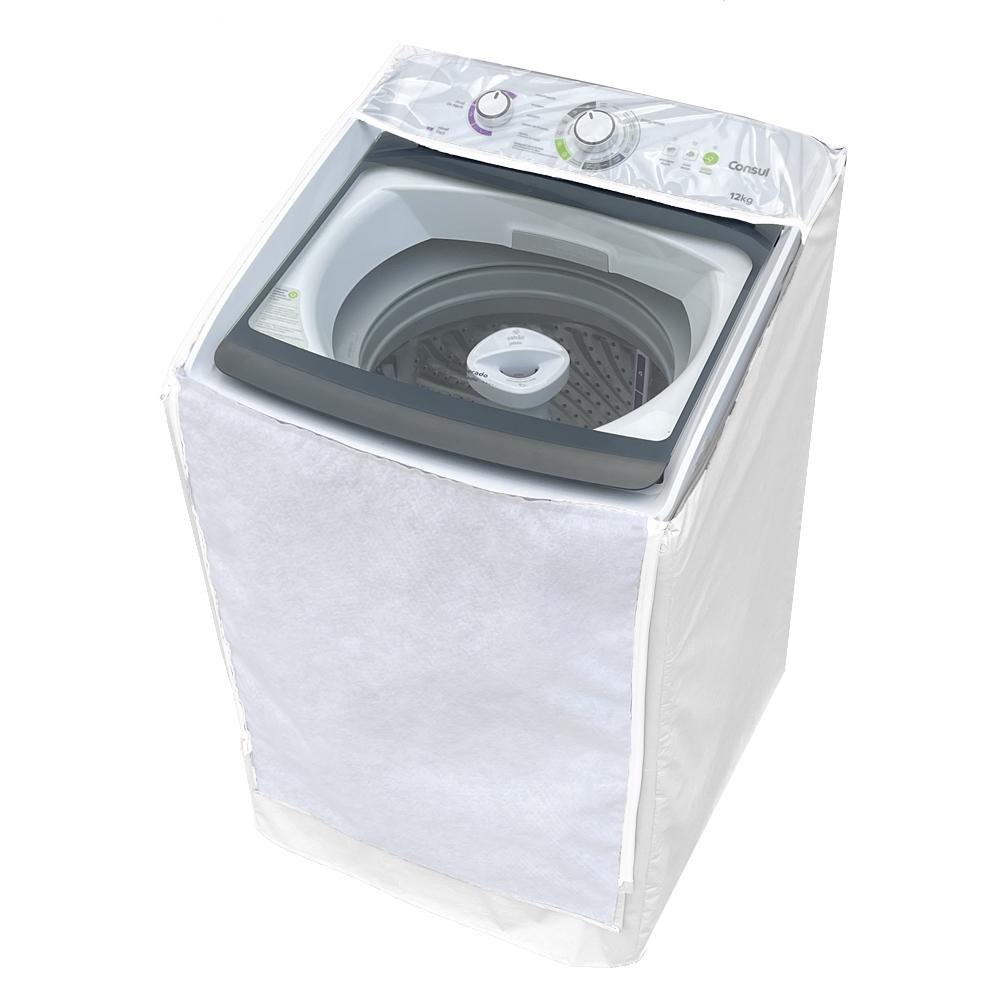 Capa Para Máquina de Lavar Consul 12kg Dosagem Extra Econômica e Ciclo Edredom - CWH12AB