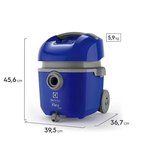 Aspirador de Pó e Água Flex Eletrolux 1400w - FLEXN