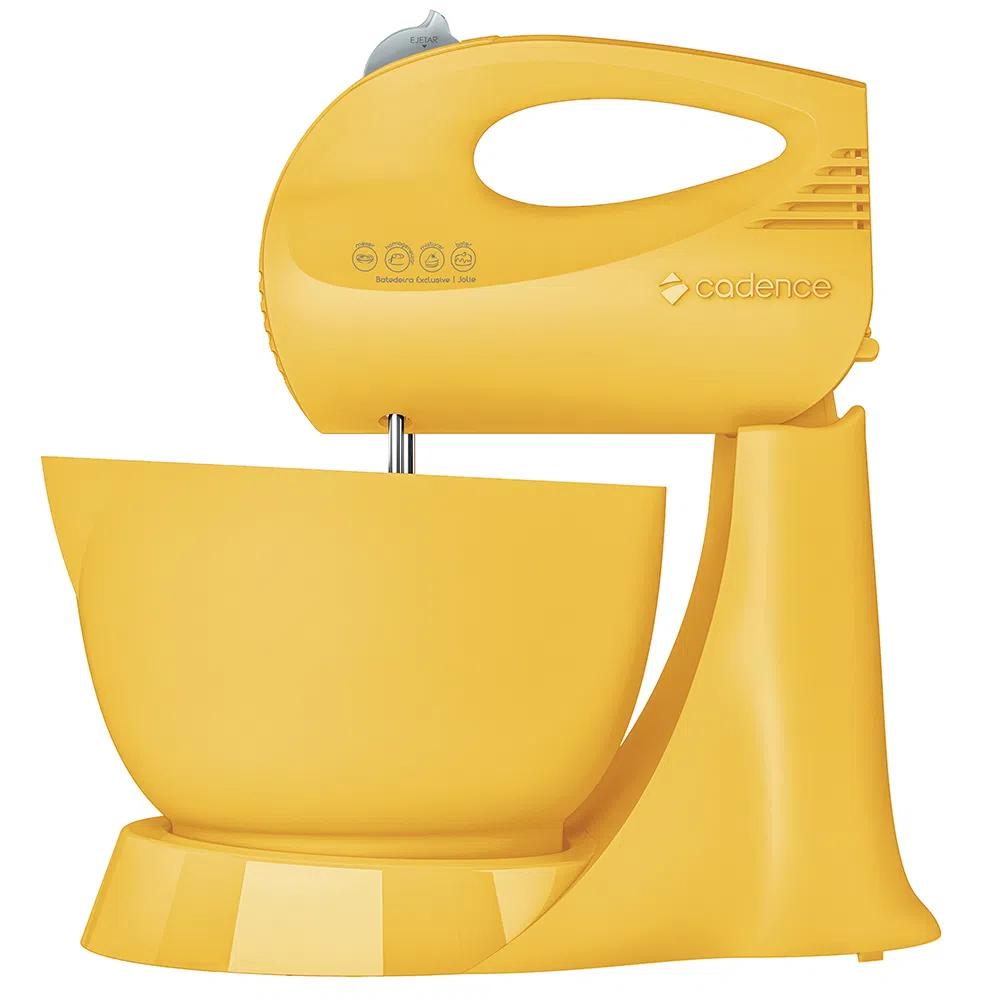 Batedeira Cadence Jolie Amarela - 220V