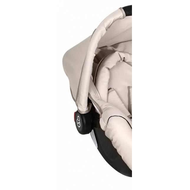 Bebê Conforto Galzerano Piccolina 0 a 13 Kg - Bege/ Preto