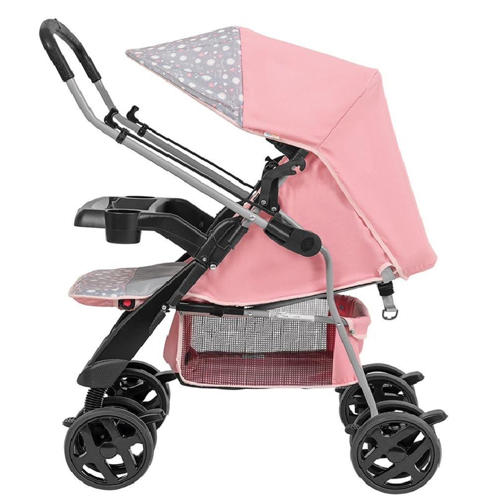 Carrinho de bebe Tutti Baby Joy - Rosa
