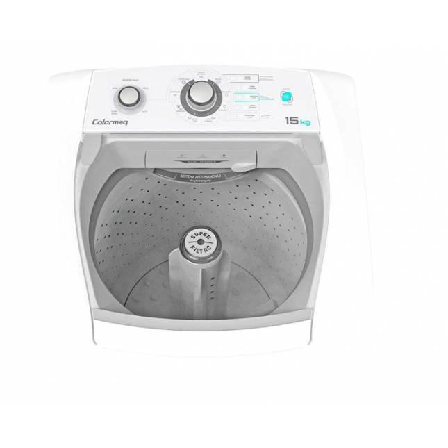 Lavadora de Roupas 15kg Colormaq Automática - Branca - 220v