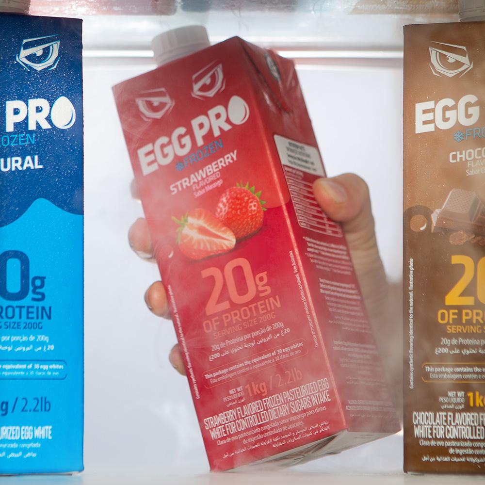 Egg Pro Morango