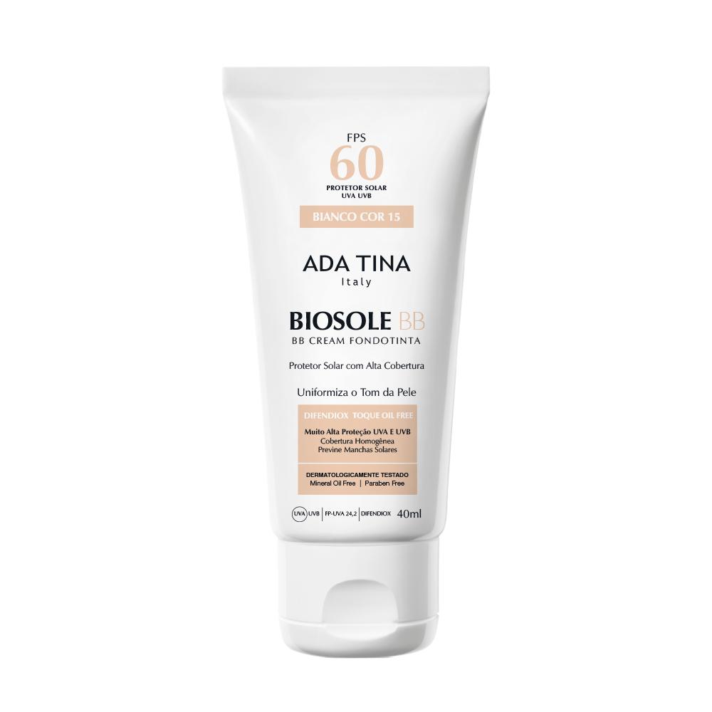 Biosole BB Cream fps 60 Cor Bianco - 40ml