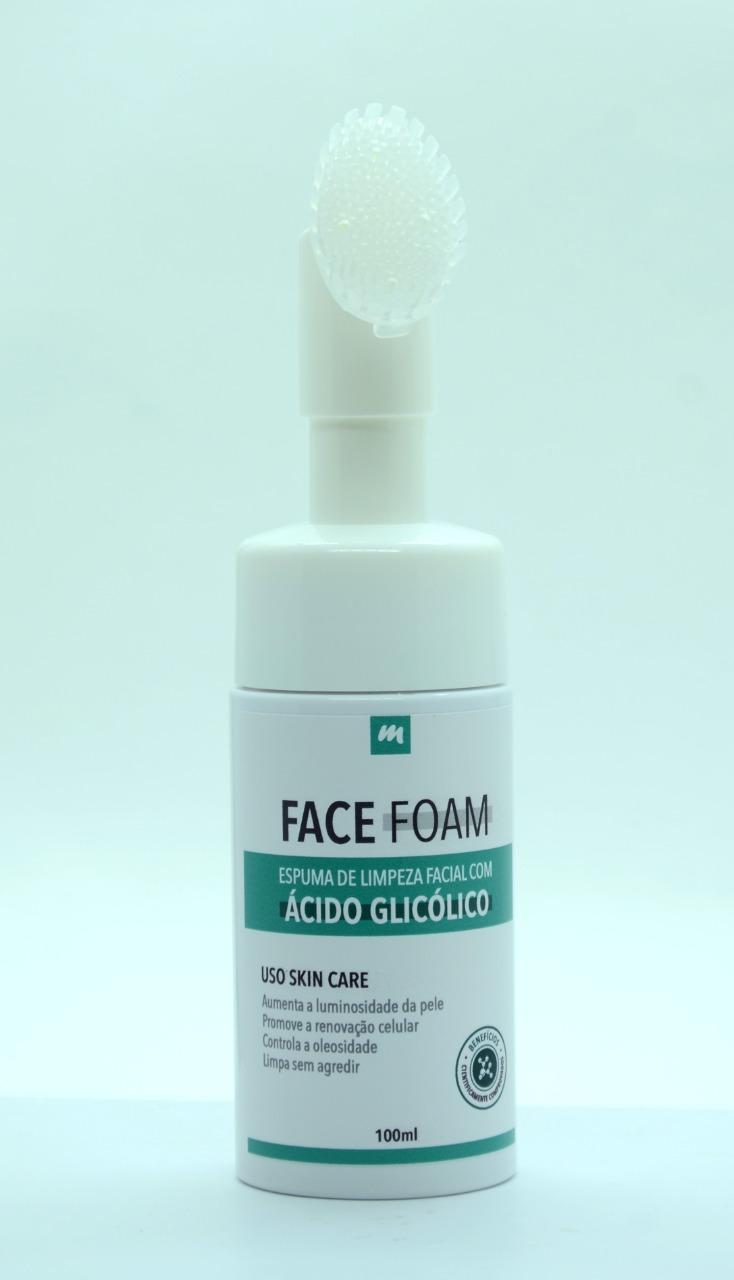 FACE FOAM - Sua Pele Limpa e Renovada