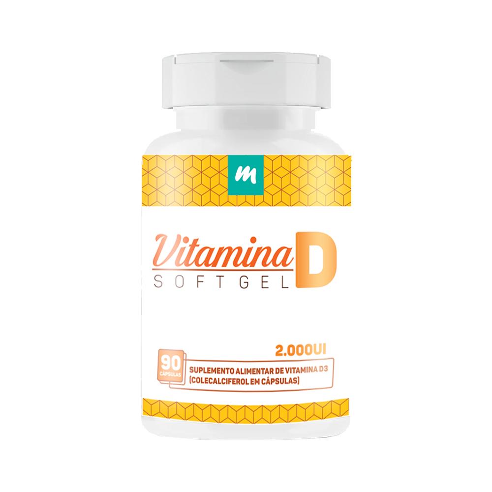 Vitamina D 2000UI -  90 Cápsulas