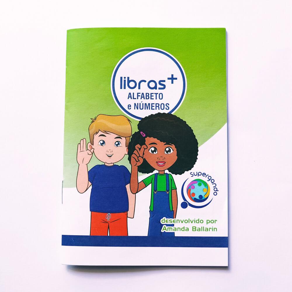 Livro/Jogo: Alfabeto e Números - Coleção Libras +