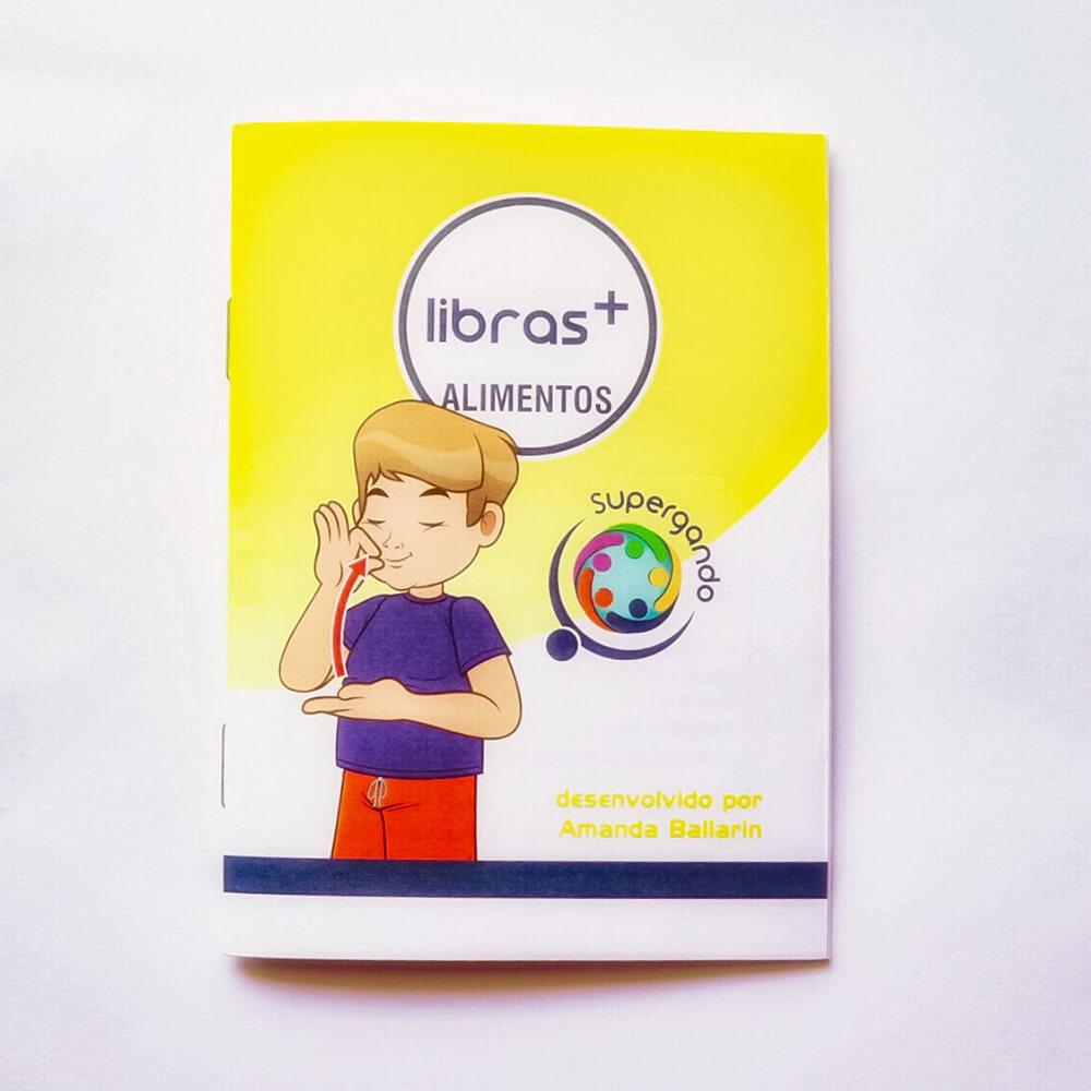 Livro/Jogo: Alimentos - Coleção Libras +