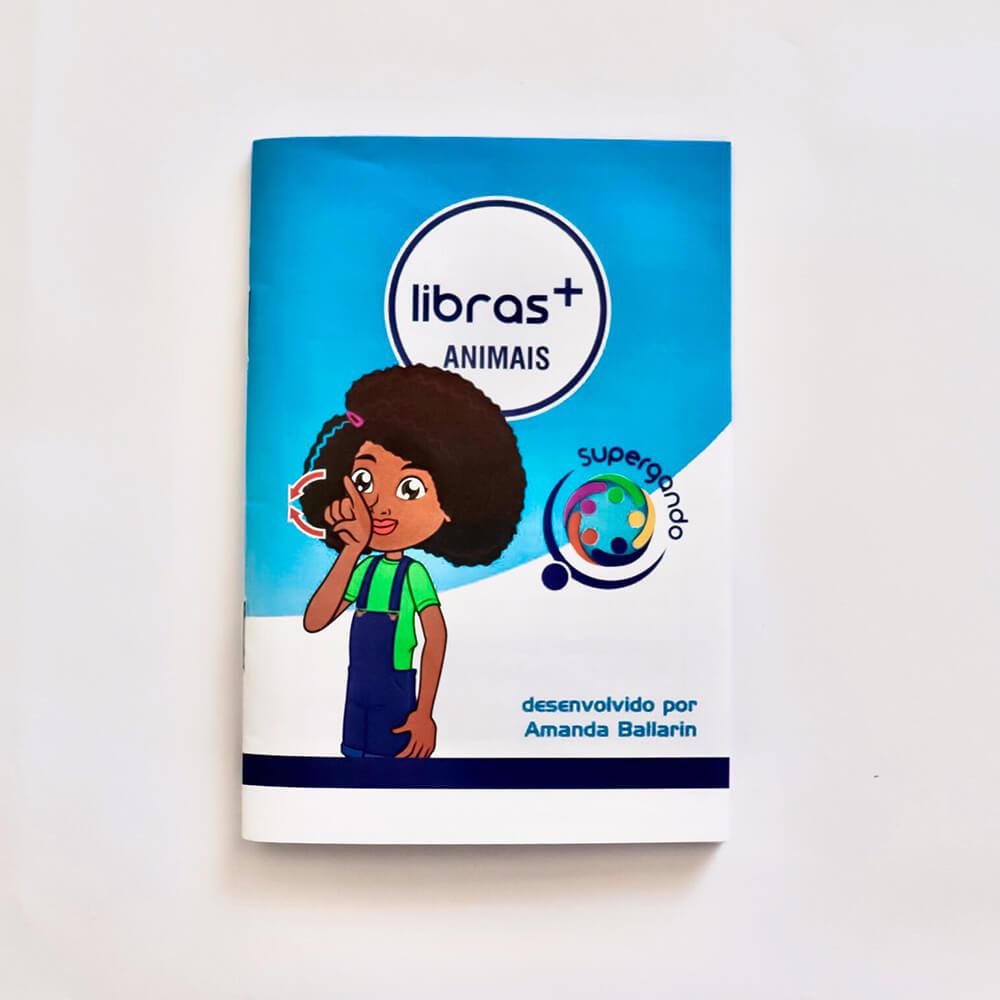 Livro/Jogo: Animais - Coleção Libras +
