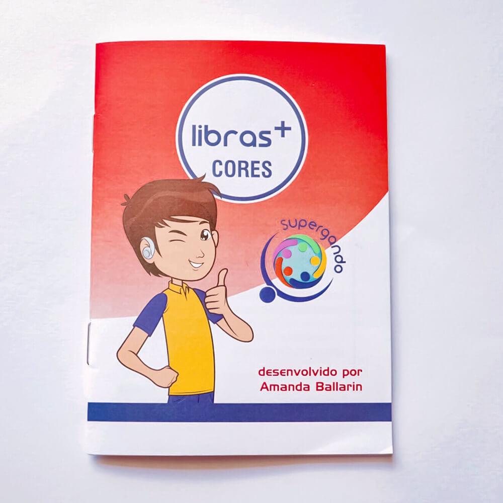 Livro/Jogo: Cores - Coleção Libras +