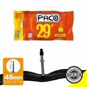 CÂMARA CICLISMO PACO ARO 29X1.95/2.125 BUTÍLICA 48MM PRESTA