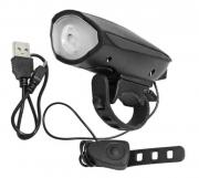 FAROL EPL-LL1544B 300 LUMENS USB COM CAPAINHA PRETO EPICLINE