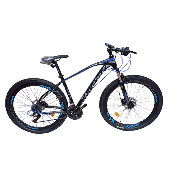 BICICLETA MTB PROFIT BOSTON X20 MAX TAM M PRETA/AZUL