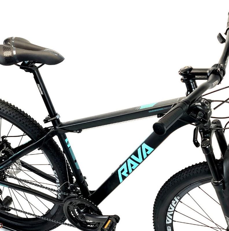 BICICLETA RAVA PRESSURE 21V ARO 29 TAM.17 PT/AZ