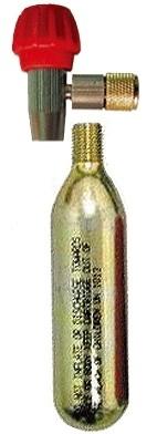 BOMBA CICLISMO LUFT CO2 LF0111 16 GRAMAS CNC  TRAVA 1 REFIL
