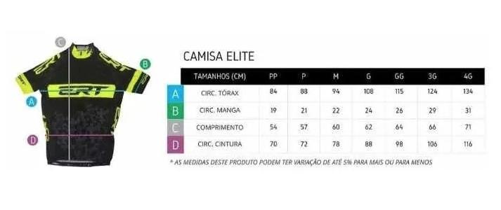 CAMISA NEW ELITE ERT RACING AMARELA UNISSEX