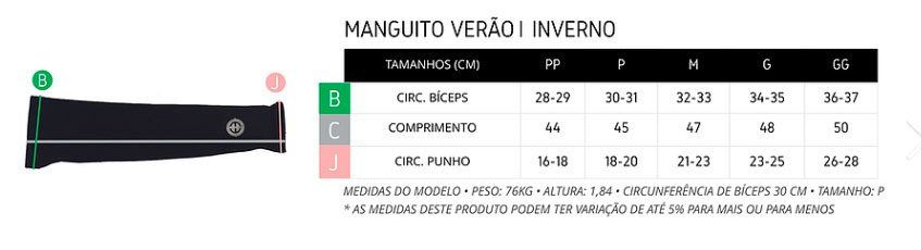 MANGUITO CICLISMO ERT BIKING