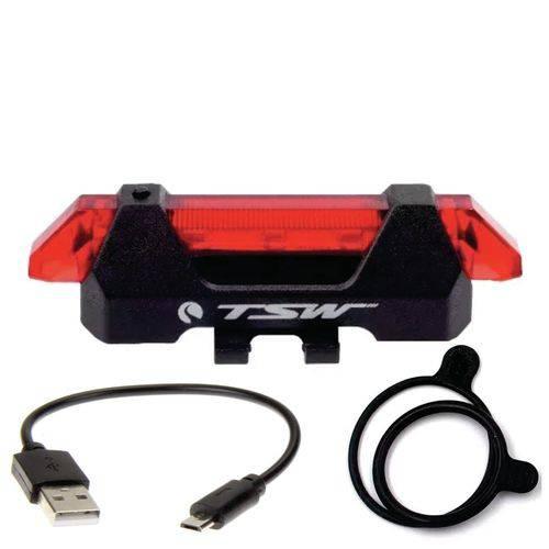 REFLETOR TSW COM CAREGADOR USB TRASEIRO