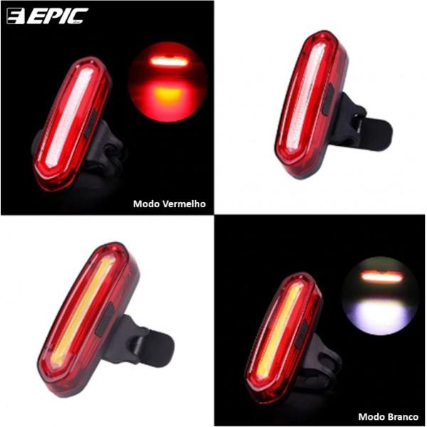VISTA LIGHT EPICLINE EPL-096E SABRE DUO LED VERMELHO USB