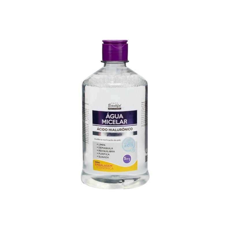 Água Micelar Ácido Hialurônico 500ml