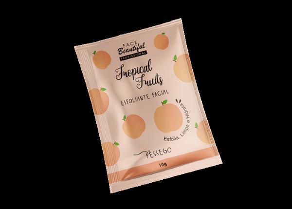 Esfoliante Pêssego Tropical Fruits Sachê  - FACEBEAUTIFUL