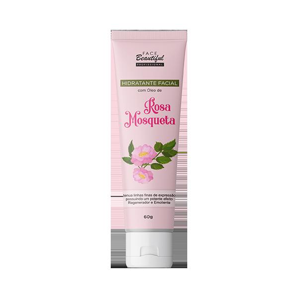 Hidratante Facial Rosa Mosqueta Bisnaga  - FACEBEAUTIFUL