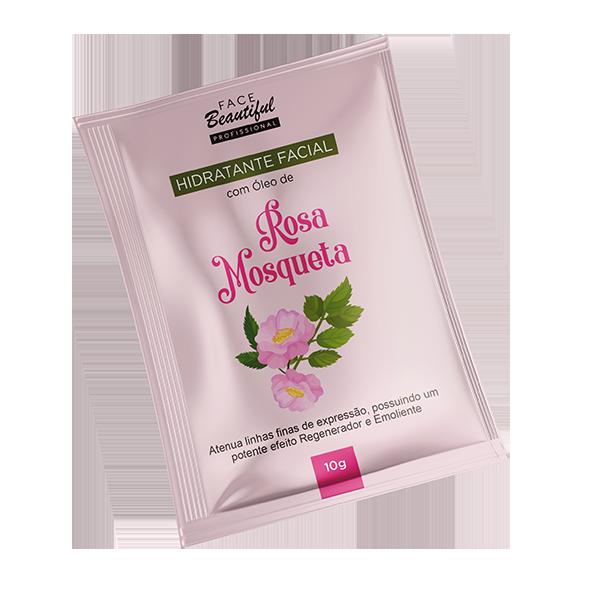 Hidratante Facial Rosa Mosqueta Sachê  - FACEBEAUTIFUL