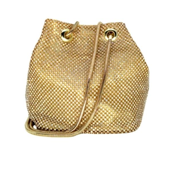 Bolsa de Festa Ouro Glitter