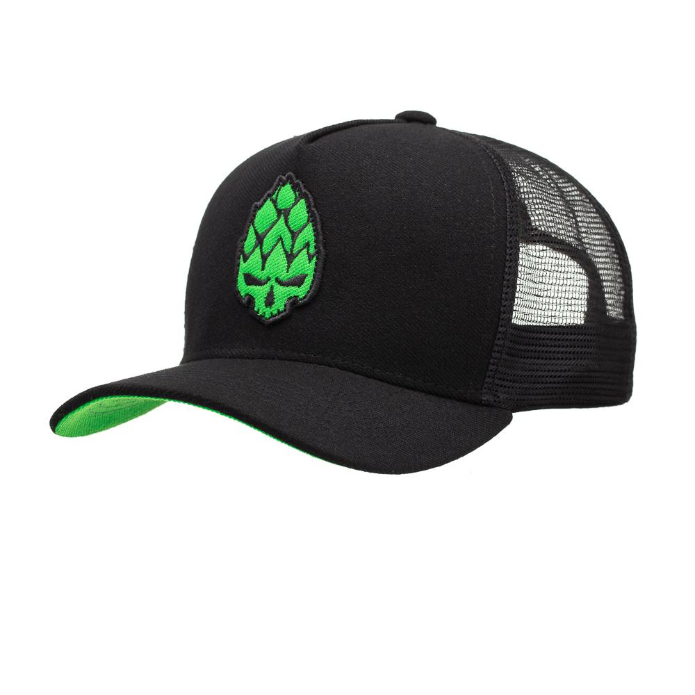 Boné Trucker Fluor Verde