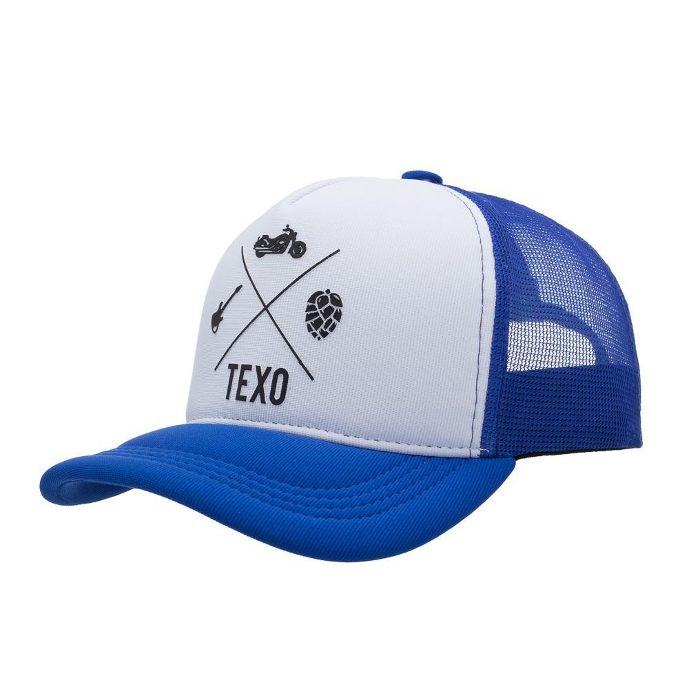 Boné Trucker Rocker Azul