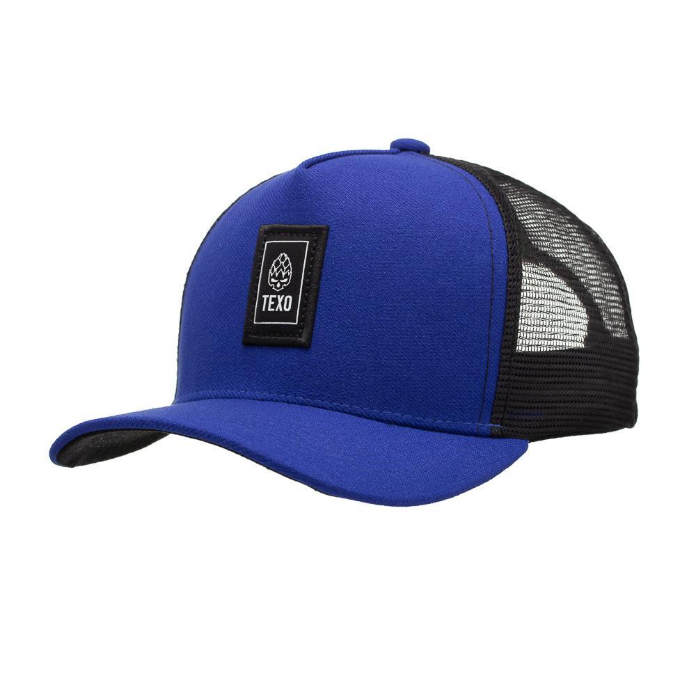Boné Trucker Vertic Azul