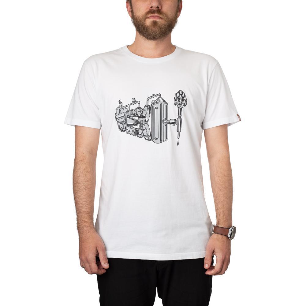 Camiseta Brewery Branca