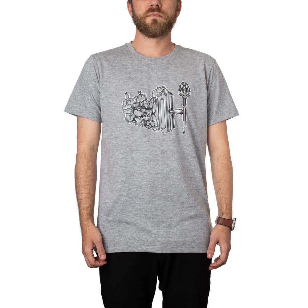 Camiseta Brewery Cinza Mescla