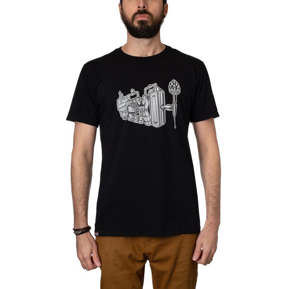 Camiseta Brewery Preta