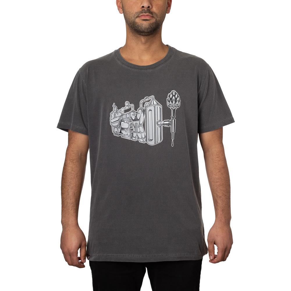 Camiseta Brewery Preta Estonada