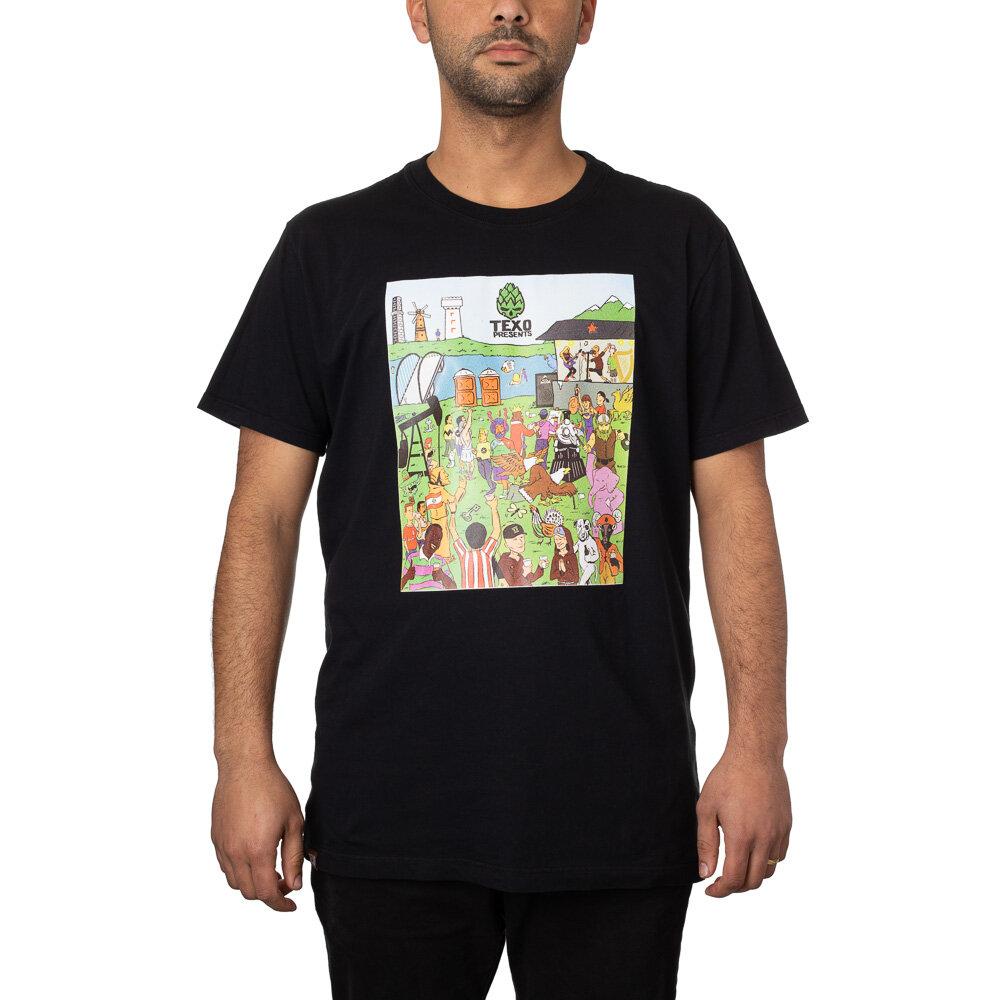 Camiseta Desafio: Cervejas do Mundo Preta + Pôster