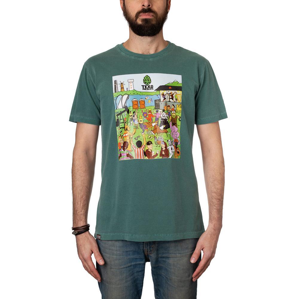 Camiseta Desafio: Cervejas do Mundo Verde Estonado + Pôster