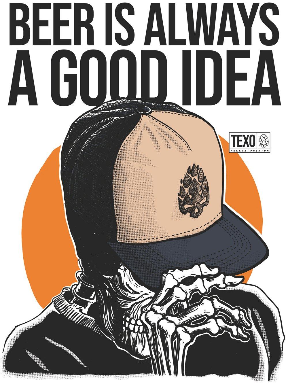 Camiseta Good Idea Branca