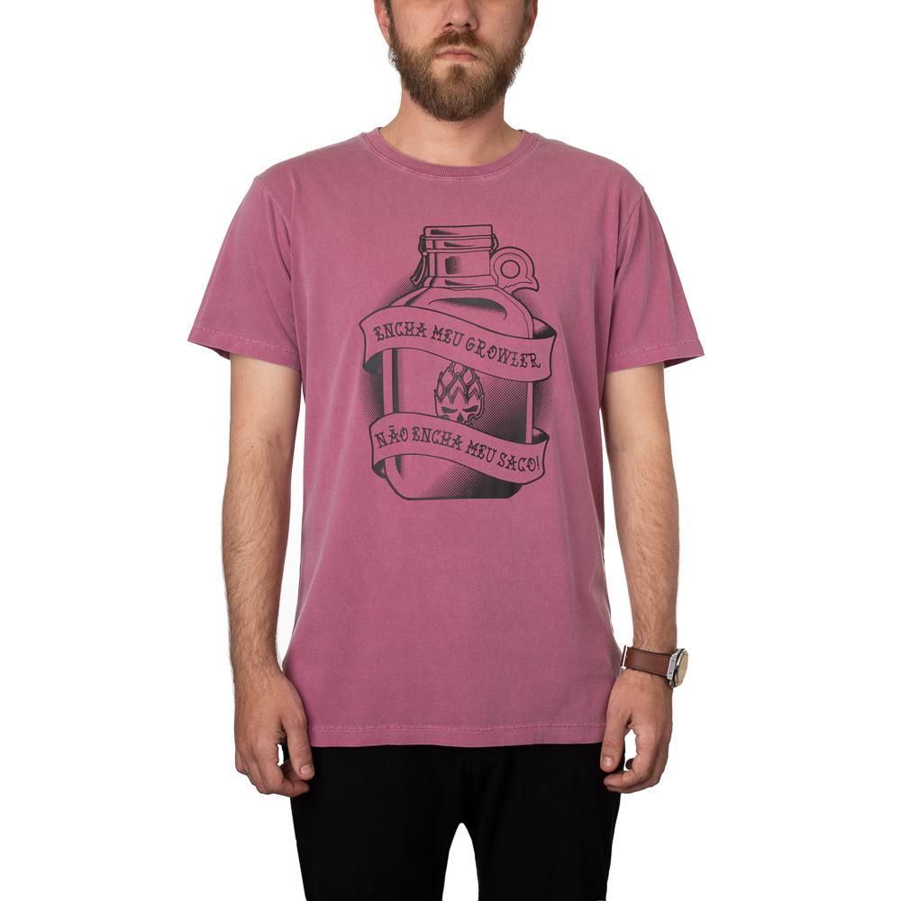 Camiseta Growler Bordô Estonada + Pôster