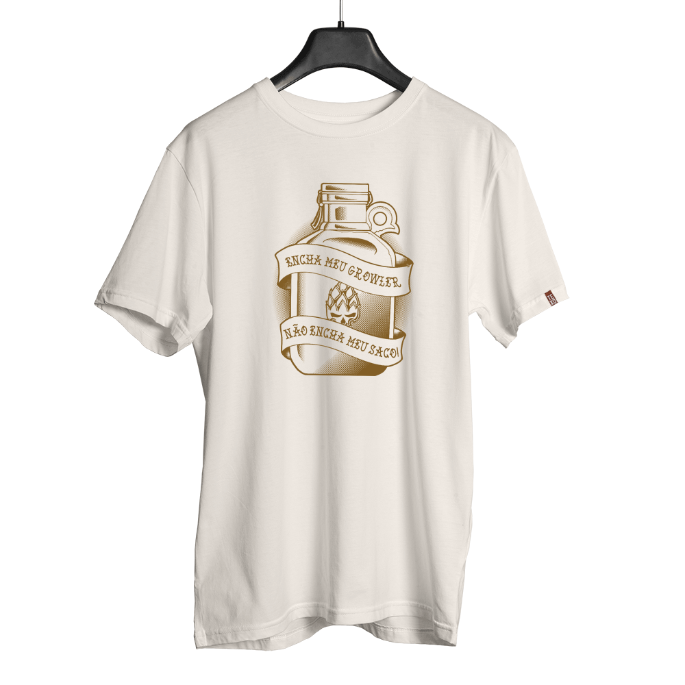Camiseta Growler Off White + Pôster