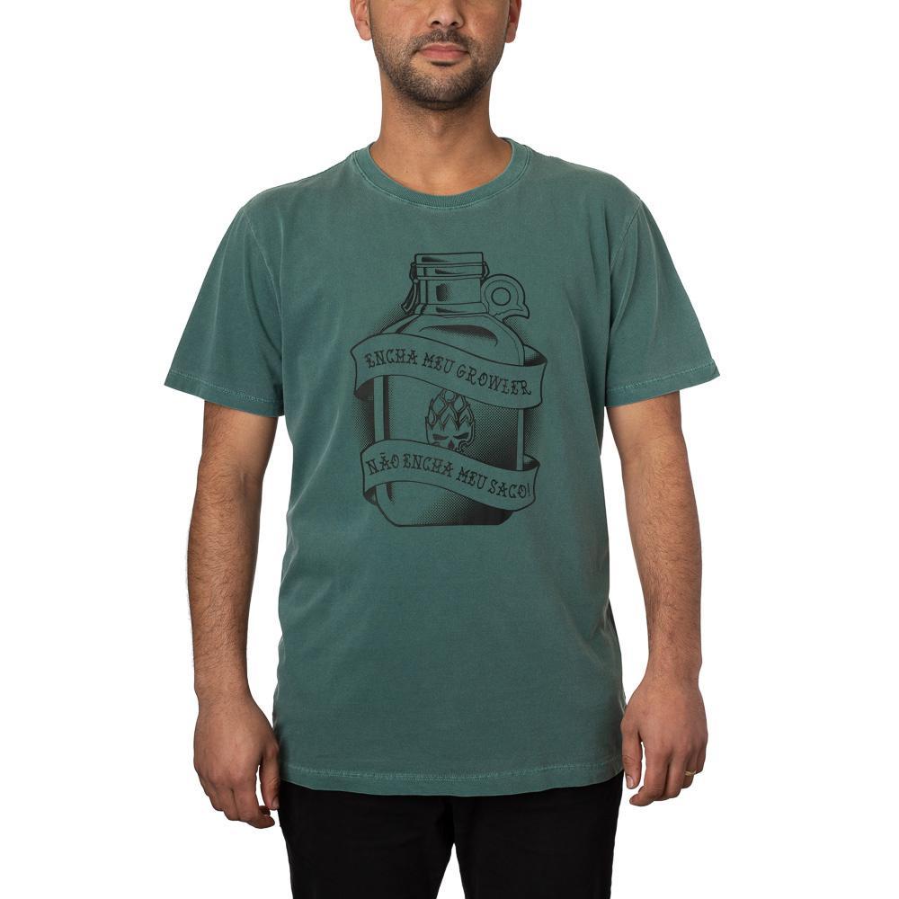 Camiseta Growler Verde Estonada + Pôster