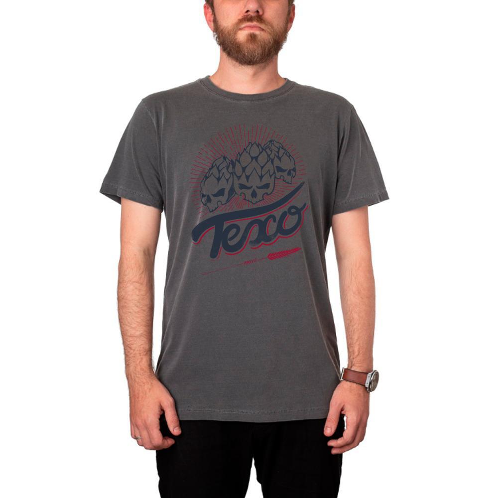 Camiseta Hopheads Preta Estonada